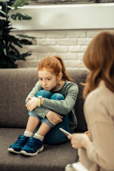 Enfant en séance d'ergothérapie